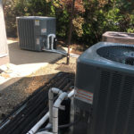 Commercial install by Robert Post HVAC at local winery