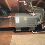 Nice and neat install by Robert Post HVAC in Chadwick Beach