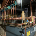 To this! Robert Post HVAC used new press tools to complete this header job in Lakewood, NJ in 10 hours. Nice, neat, and no leaks – not one! 👍