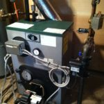 Installation of oil fired broiler with indirect hot water heater